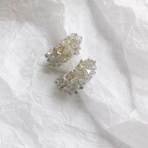 Elegant Crystal Mini Hoop Earrings